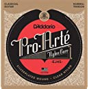 D'Addario EJ45 Pro-Arte Nylon Classical Guitar Strings, Normal Tension – Nylon Core Basses, Laser Selected Trebles - Offers Balance of Volume and Comfortable Resistance – 1 Set