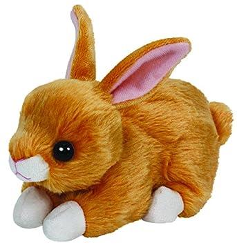 Beanie Babies TY - TY- Felpa Pequeño - Conejo de Brown - Peluche Conejo Beanie
