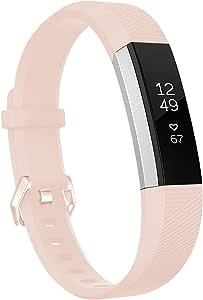 HUMENN Compatibel met Fitbit Alta HR Bandje, Verstelbare Vervangende Sport Accessoire Polsband Riem voor Fitbit Alta/Alta HR Fitness Tracker Klein Groot Multi Kleuren