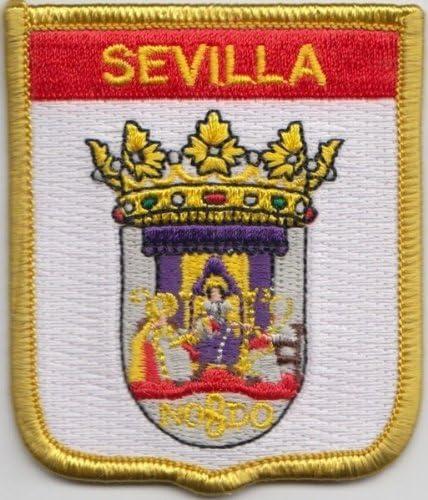 España Sevilla bandera parche bordado: Amazon.es: Jardín