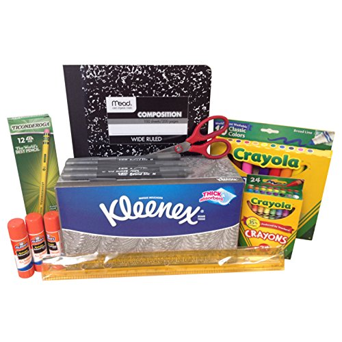 Elementary Back to School Supply Bundle Kit - 9-Items