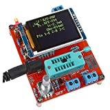 KKmoon MRH1631426738275XW Multifunctional LCD GM328 Transistor Tester Diode Capacitance ESR Voltage Frequency Meter PWM Square Wave Signal Generator