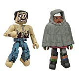 The Walking Dead Minimates Wave 4 - Michonne and Crawl Zombie