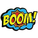 PinMart's BOOM! Comic Book Art Enamel Lapel Pin