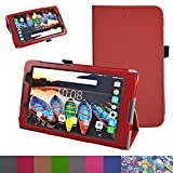 Lenovo Tab3 A8 / Tab3 8 Case,Mama Mouth PU Leather Folio 2-folding Stand Cover with Stylus Holder for 8
