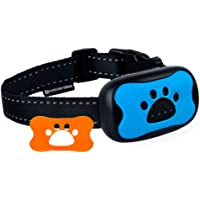 Dog No Bark Collar - Anti Barking Vibration Control Device for Small Medium Large Dogs - Puppy Training Deterrent - No…