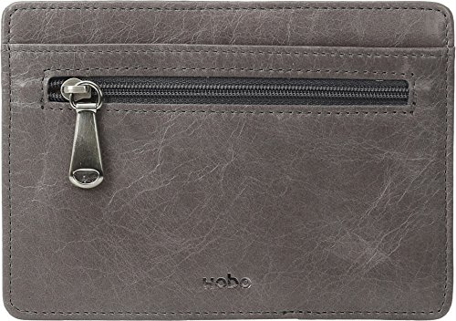hobo-womens-leather-vintage-euro-slide-card-holder-wallet-granite