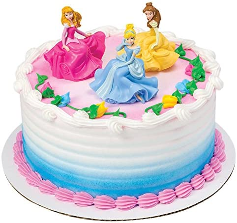 Awesome Decopac Disney Princess Once Upon A Moment Decoset Cake Topper Funny Birthday Cards Online Inifodamsfinfo