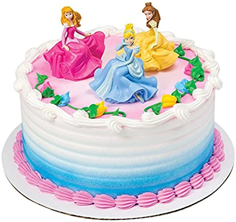 Incredible Amazon Com Decopac Disney Princess Once Upon A Moment Decoset Personalised Birthday Cards Petedlily Jamesorg