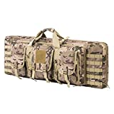 Best Case With Shooting - ARMYCAMOUSA 38 Inch Double Rifle Bag Outdoor Tactical Review