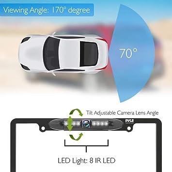 7 pulgadas IR LED sistema de asistencia de estacionamiento visi/ón nocturna ABS cami/ón c/ámara de marcha atr/ás impermeable para coche autob/ús Kit de c/ámara de visi/ón trasera