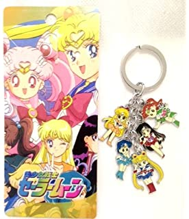 Amazon.com: 5Star-TD Sailor Moon Tsukino Usagi with cat Key ...