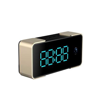 IDABAY WI-S62, Reloj con cámara Oculta Cámara de Reloj WiFi de Fuente Grande