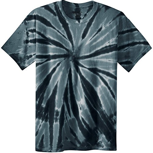 (Joe's USA Koloa Surf (tm) Youth Colorful Tie-Dye T-Shirt,L-Black)