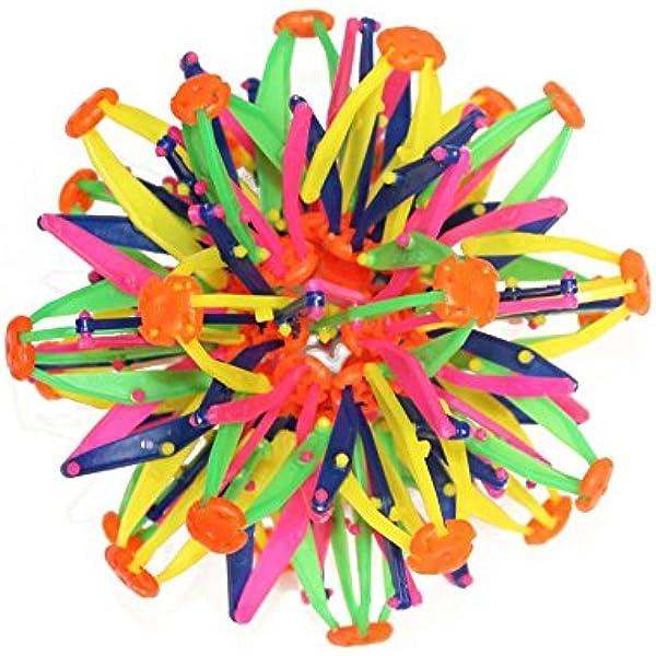 SAMTITY Bola mágica Extensible de plástico Multicolor para niños y ...