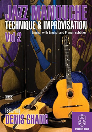 JazzManouche: Technique & Improvisation Volume 2 [Instant Access]