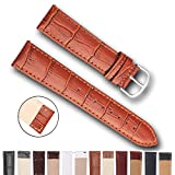 Top Grain Leather Watch Band, Quick Release Watch Bands, Replacement Watch Bands for Men and Women