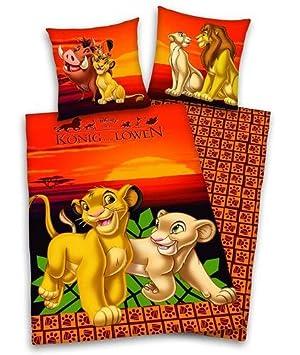 Bettwäsche König Der Löwen Lion King 3d 135x200 80x80 Amazonde