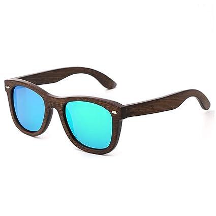 LX-LSX Gafas De Sol Polarizadas De Bambú Al Aire Libre del Conductor Anti-