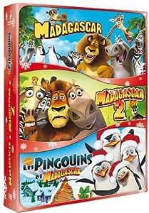 Madagascar - L'intégrale (+ Les pingouins de Madagascar) [Francia] [DVD]