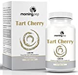 Tart Cherry Extract Supplement 180 Count 1,000 mg per Veggie Capsule By Morning Pep, NON GMO - GLUTEN FREE And Full Of Antioxidants and Flavonoids, Used For Immune System Muscles and Joint Health
