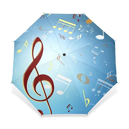 JSTEL Compact Windproof and Portable Durability Travel Foldable Rain Umbrella (E3 Stroller)