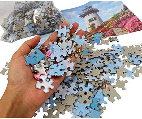 wgkgh Jigsaw Puzzle Erwachsenen Puzzle Kinder Kirschbaum 1000 Teile 3D DIY Puzzle Spiel Puzzles Klassische Puzzle Gehirn Iq Entwicklung Von Lernspielzeug 50Cmx75Cm