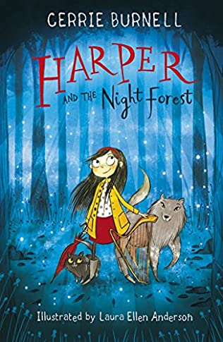 book cover of Harper and the Night Forest