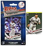 #4: New York Yankees 2017 Topps Baseball EXCLUSIVE Special Limited Edition 17 Card Complete Team Set with Derek Jeter,AARON JUDGE RC,Masahiro Tanaka,Gary Sanchez & More! Shipped in Bubble Mailer! WOWZZER