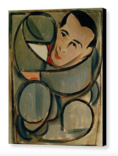 Tommervik Pee-wee Herman Circular Art Print Abstract Pee-wee Herman Art Pop Art Gallery Wrapped Canvas Print (Wee Art Gallery)
