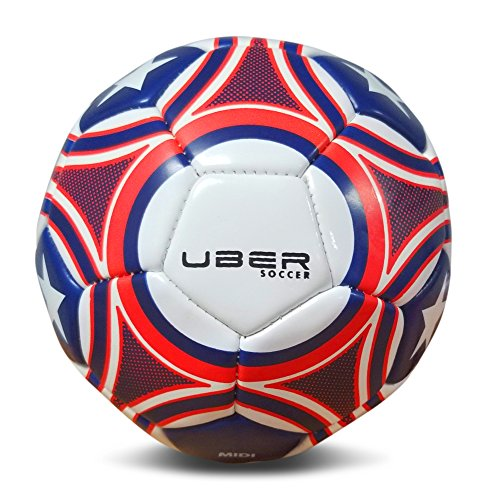Uber Soccer USA Trainer Ball - Red, White, and Blue (4)