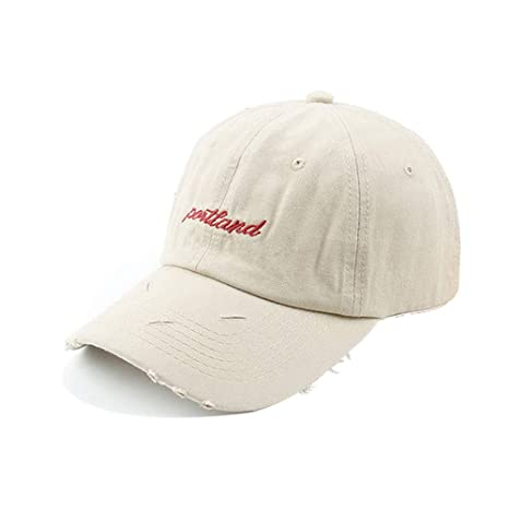 SUPREAN Gorra de Beisbol para Hombres Bordado Palabra Soporte ...