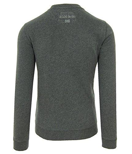 NAPAPIJRI Smu Bury N0YH5R197 Herren Men Sweatshirt Pullover Dunkel Grau Grey