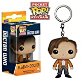 Doctor Who Pocket Pop! Figure Keychain Mini Character & Sticker Pack + Bonus Cards Alien Attax Pack / Funko Eleventh Doctor Keychain