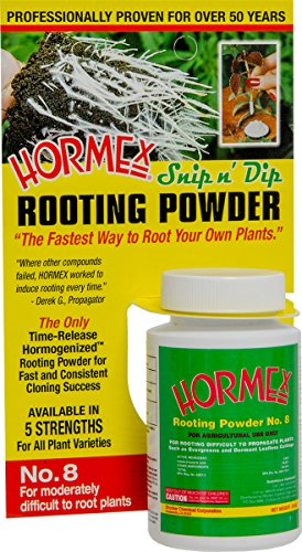 Hormex Rooting Powder Number 8 Difficult to Propagate Plants