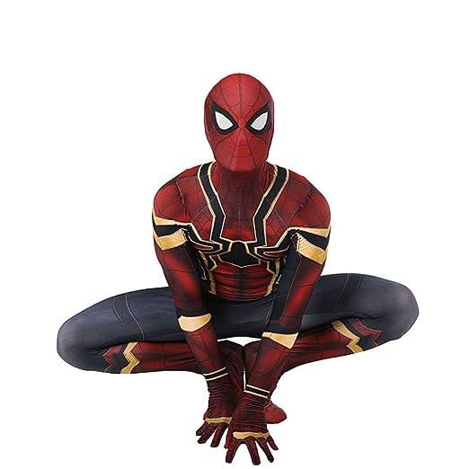 KOUYNHK Traje De Spiderman para Niños Adultos Vengador ...