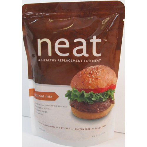 Neat Original Mix, Vegetarian (Ground Beef Substitute) - 5.5 oz (Pack of 6) by Neat