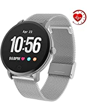 """YoYoFit Edge Smart Watch, Heart Rate Monitor Fitness Tracker Watch with Step Counter Sleep Monitor,1.3"""" Color Screen Activity Tracker Pedometer Watch, Great Fitness Gift for Women Men and Elder"""