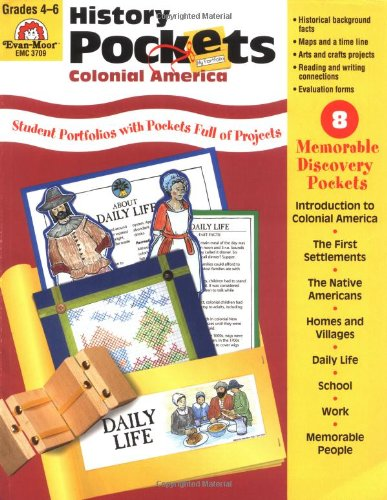 Amazon.com: History Pockets: Colonial America, Grades 4-6+ ...