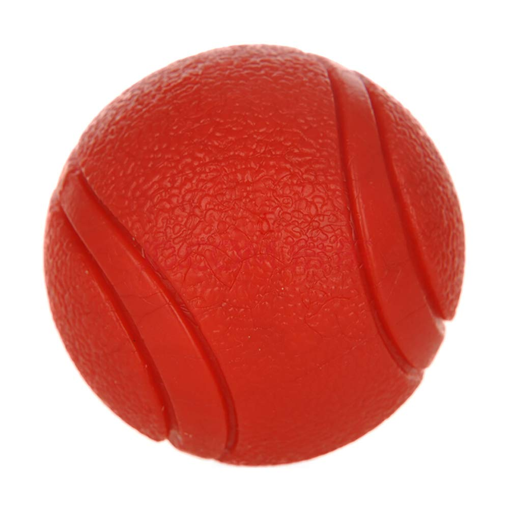 Diameter5cm Dog Toy Rubber Ball Bite-Resistant Pet Solid Stretch Basketball Toy Durable Animal Pets Training Toys Supplies for Teddy Pitbull,Diameter5cm