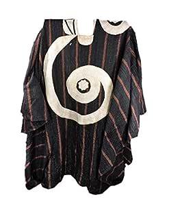Hausa Grand Boubou - Manta tejida a mano, diseño de rayas, color ...