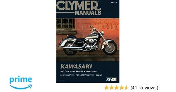 Kawasaki vulcan 1500 series 96 08 clymer motorcycle repair penton kawasaki vulcan 1500 series 96 08 clymer motorcycle repair penton staff 0024185917014 amazon books fandeluxe Gallery