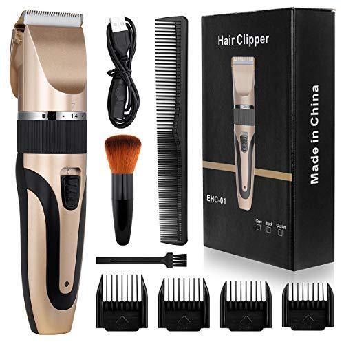 🥇 Cortapelos Hombre Maquina de Cortar el Pelo Cortadora de Pelo Barbero Electric Recortador de Barba y Precisión