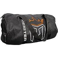 Meister X-Large Breathable Chain Mesh Duffel Gym Bag - Black
