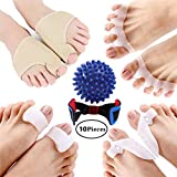 Bunion Corrector Bunion Relief Orthopedic Bunion Splint Hallux Valgus Corrector, Treat Pain in Tailors Bunion, Hammer Toe, Big Toe Joint