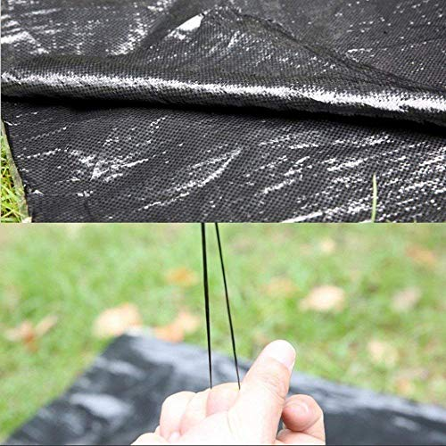 OriginA 3x25ft Weed Control Fabric Planting Holes - Ground Cover Weed Barrier - Eco-Friendly for Vegetable Garden Landscape(Dia 3'',3 Row) by OriginA (Image #5)
