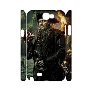 LABEXB Pirates of the Caribbean Phone 3D Case For Samsung Galaxy Note 2 N7100 [Pattern-6]