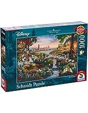Schmidt - SCH-59489 - Disney, 101 Dalmatiërs, 1000 stukjes Puzzel - vanaf 12 jaar - disney puzzel - van Thomas Kinkade