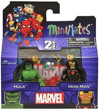Marvel Minimates - Hulk and Iron Man 2 pack by Diamond Select ...