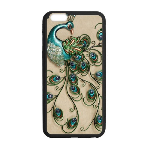 Colorful Peacock Feather iPhone 6 Plus 5.5 inches Cases-Cosica Provide Superior Cases For iPhone 6 Plus 5.5""